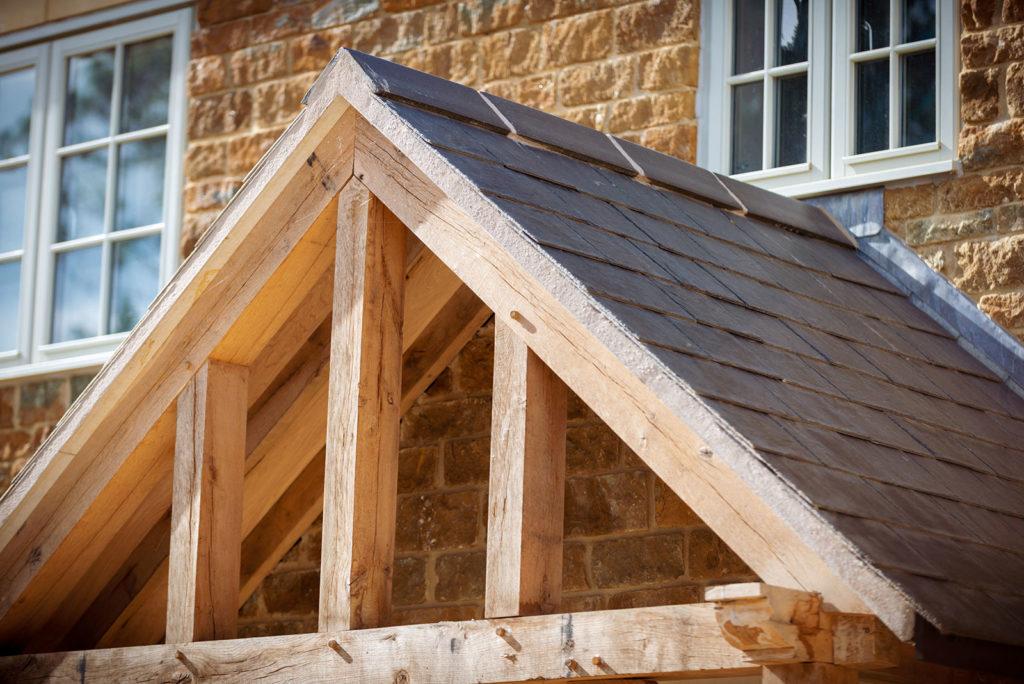 oak porch roof
