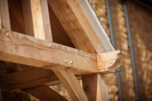 Full Height Porch Oak Joints Detail