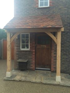 Floor and Wall Mounted Porch Timber