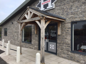 Commercial Floor and Wall Mounted Porch