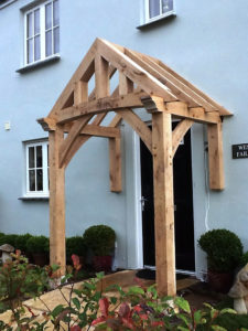 Floor and Wall Mounted Porch Before Roof