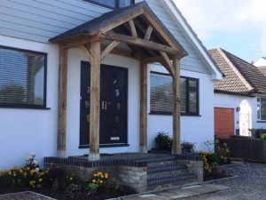 Full Height Porch Converted Bungalow