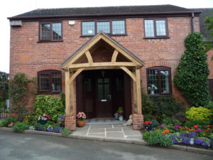 Low Brick Plinth Porch Profile