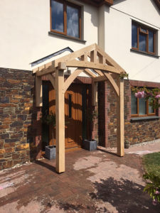 Floor and Wall Mounted Porch Alternative Open Roof